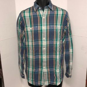 Polo Ralph Lauren Plaid Flannel Shirt Size Large